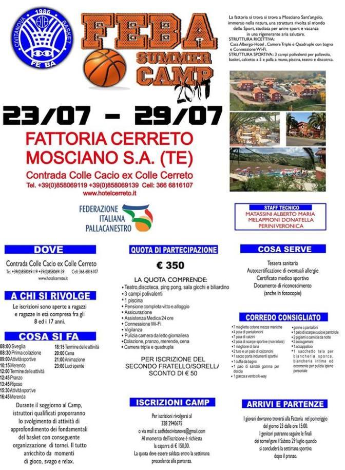 Feba Summer Camp 2017