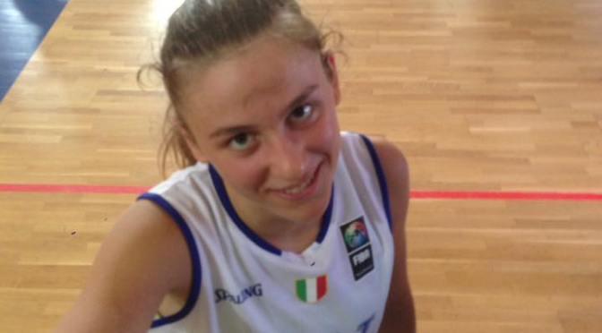 ALESSANDRA ORSILI CONVOCATA PER L'EUROPEO UNDER 16 FEMMINILE