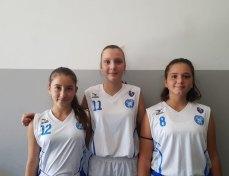 Tre atlete convocate