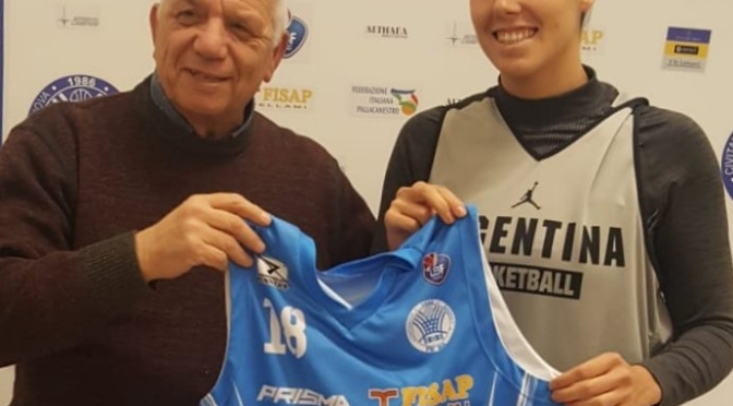 Natacha Perez è tornata in Argentina