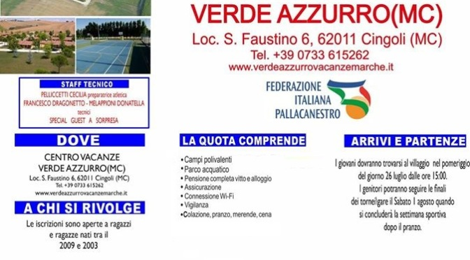 AL VIA IL SUMMER FEBA CAMP 2020