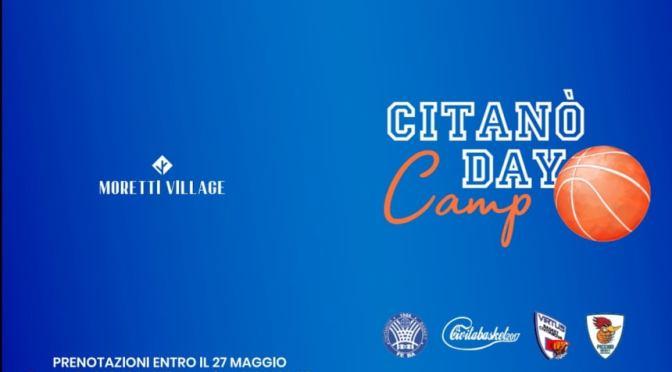 AL VIA DA GIUGNO IL CITANO' DAY CAMP